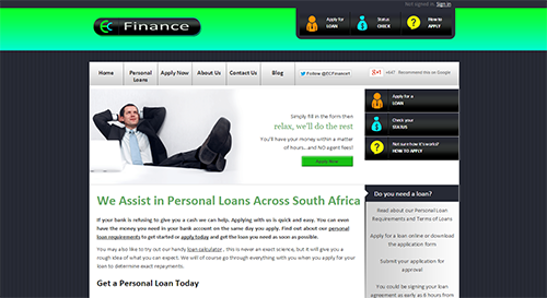 EC Finance is one of our valued customers. We maintain some of their websites.