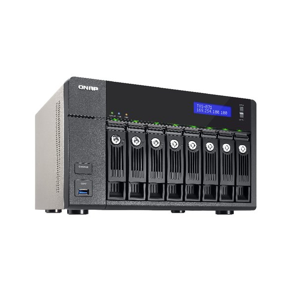 Buy the QNAP 8-Bay NAS, 4GB DDR3 RAM MAX 10GB locally in South Africa from the Digiworks.co.za store.