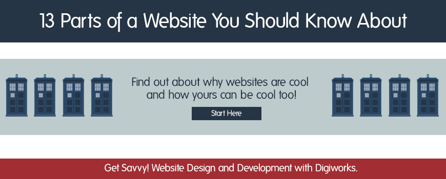 13 Parts of a Website You Should Know About