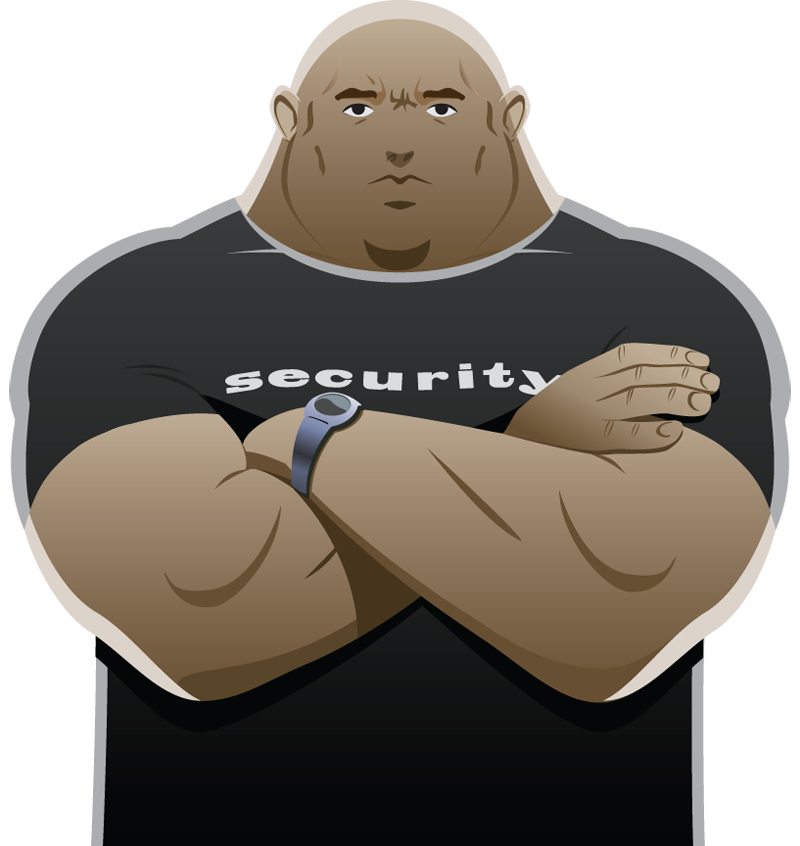 bouncer security