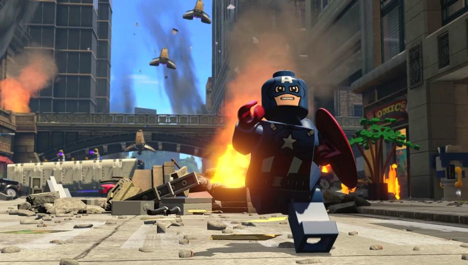 LEGO Marvels Avengers games